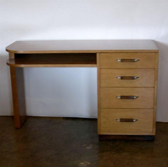 Streamline Desk by Eliel Saarinen for Johnson Furniture image 2