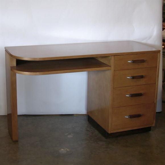 Streamline Desk by Eliel Saarinen for Johnson Furniture image 6