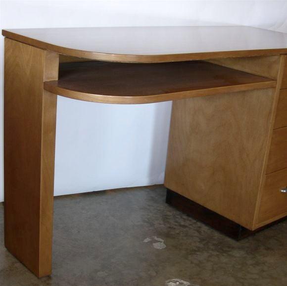 Streamline Desk by Eliel Saarinen for Johnson Furniture image 3