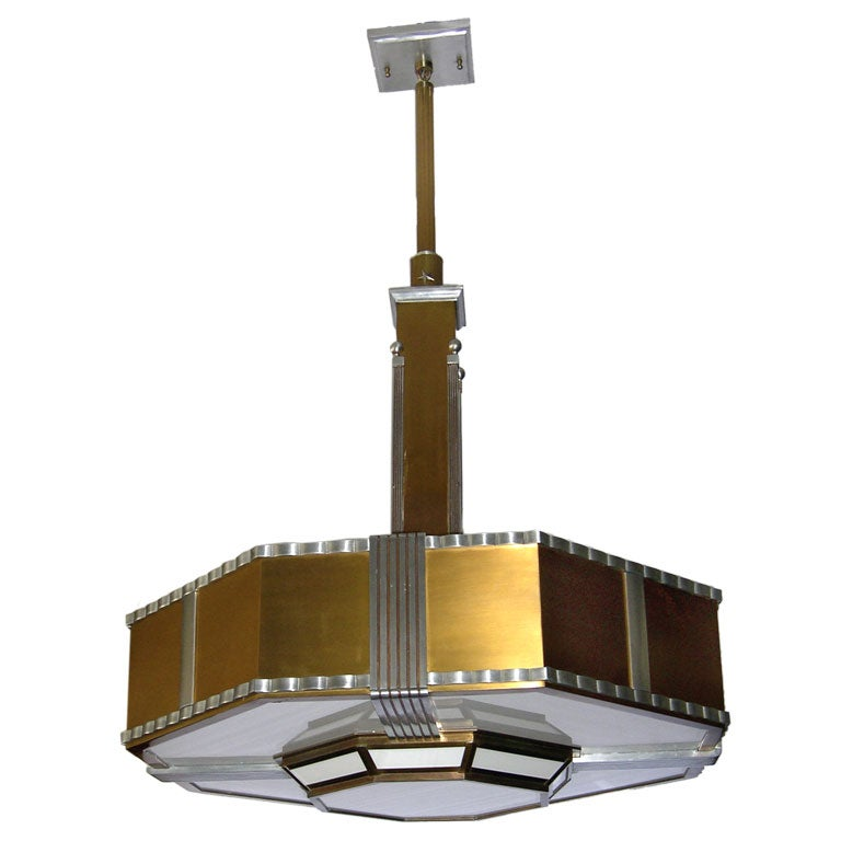 Fantastic Very Large Art Deco Theater Chandelier At 1stdibs