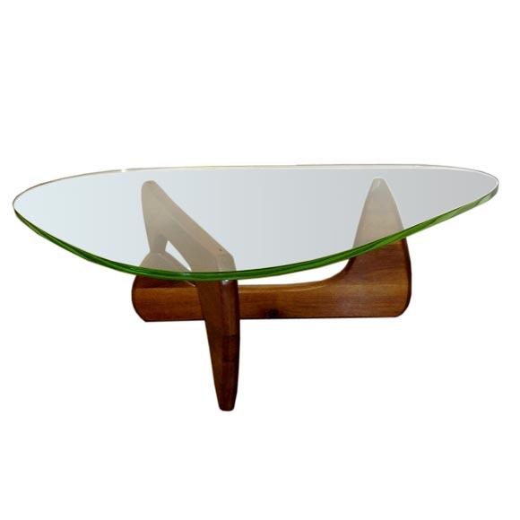 Rare Original 1948 Isamu Noguchi Coffee Table W Original Glass At 1stdibs