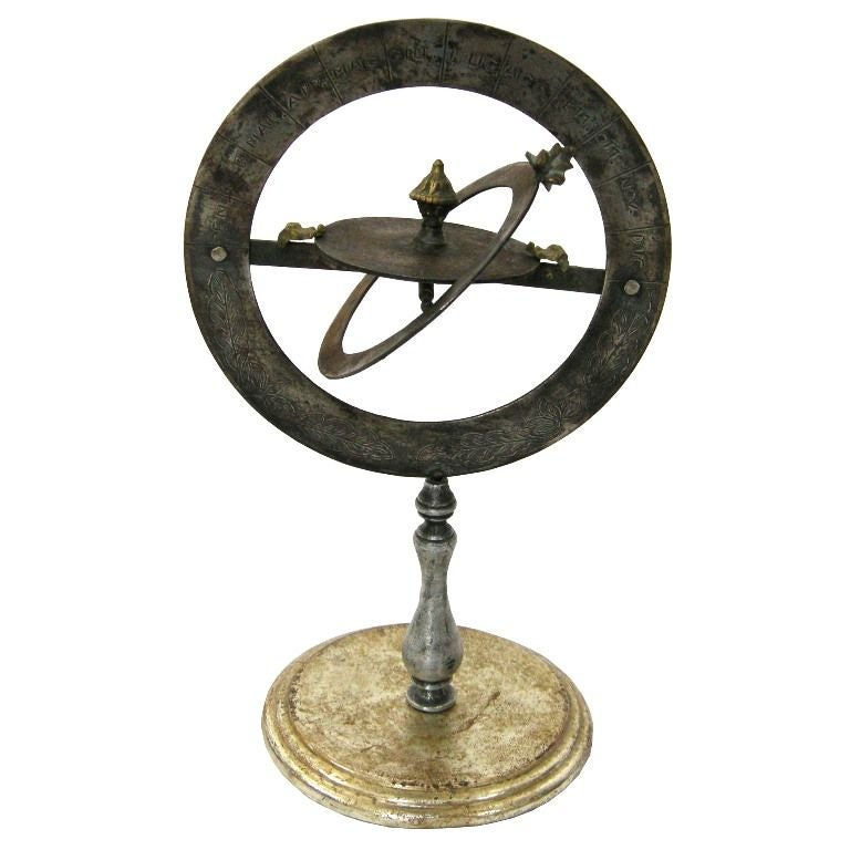 Armillary Sphere Gmd 1915 At 1stdibs