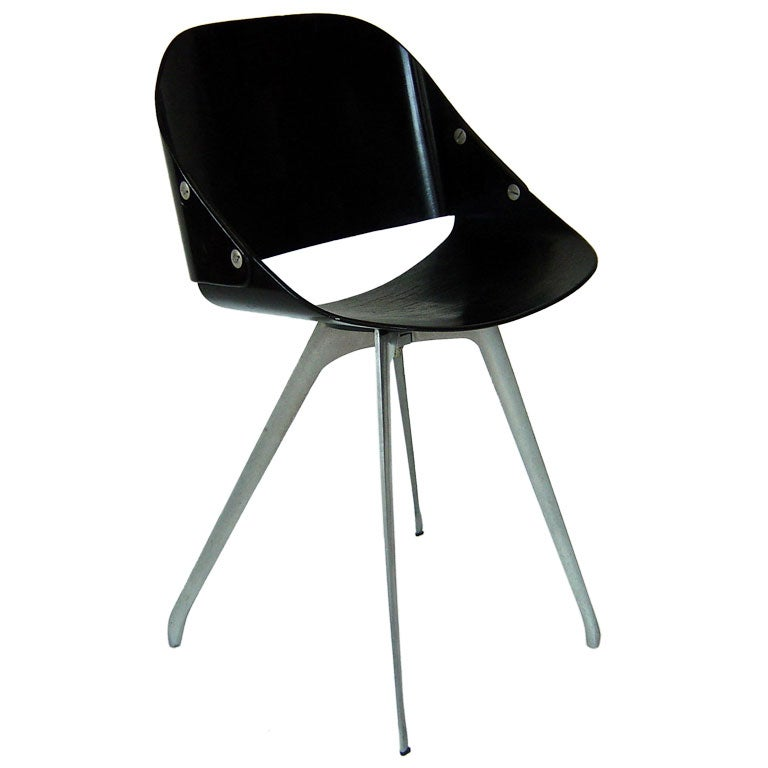 Roger Tallon Wimpy Chair At 1stdibs