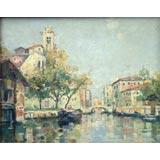 M. Bompard Nineteenth Century Grand Canal Scene Of Venice.