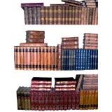Assorted 19th Century Leather Bound Books