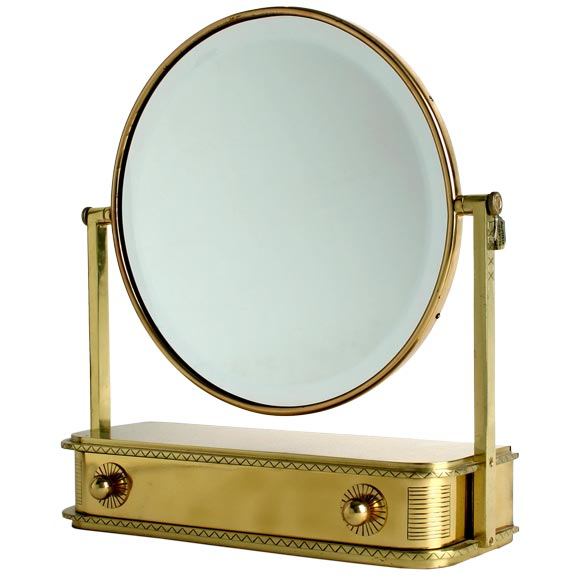 Art Deco Vanity Mirror At 1stdibs