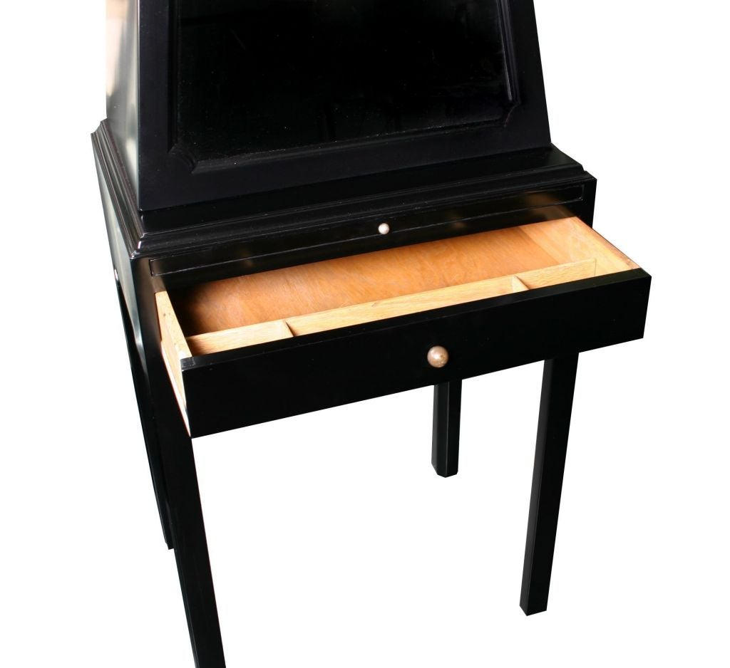 Small Scale Art Deco Secretary Writing Desk At 1stdibs