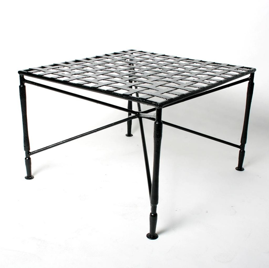 Wrought Iron Bench Or Table At 1stdibs