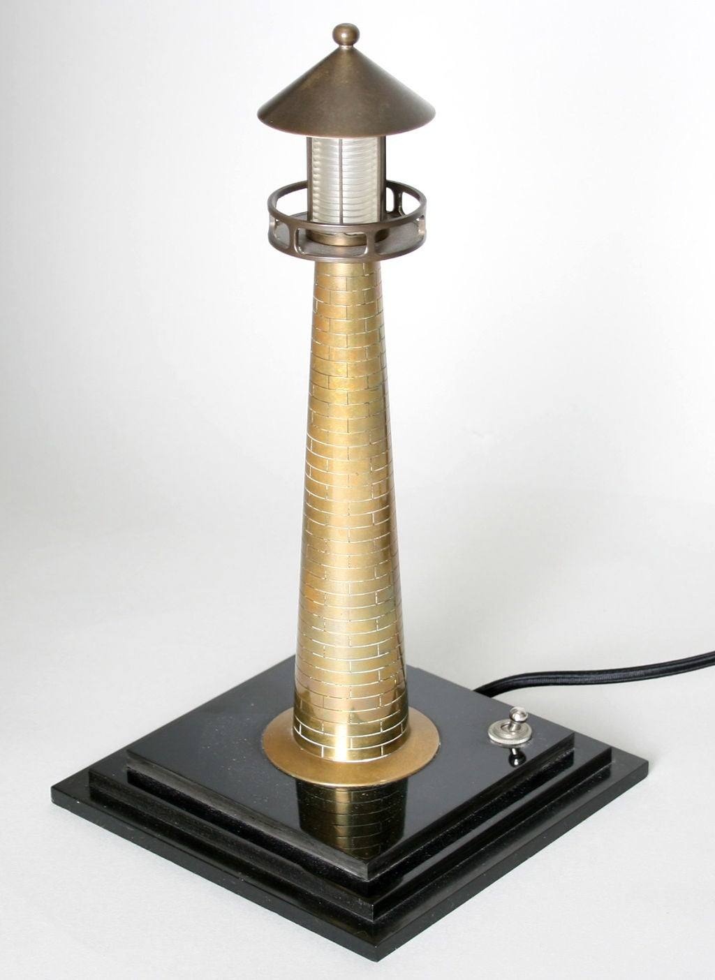 Pair Of Lighthouse Table Lights At 1stdibs