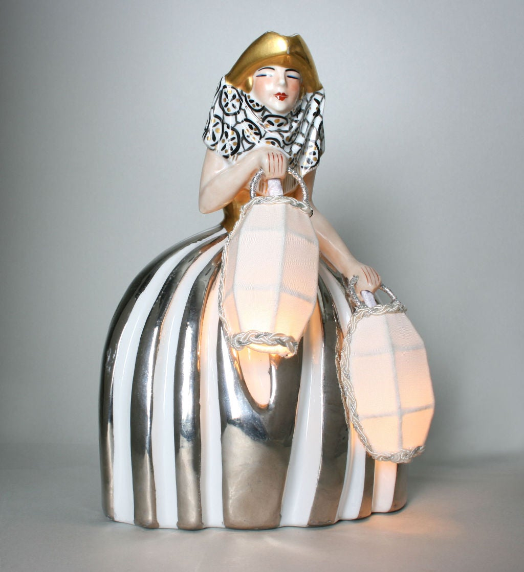Art Deco Halga Lamp For Sale At 1stdibs