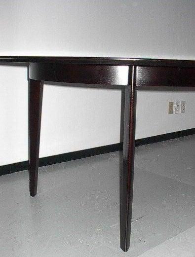 Mid-Century Modern Edward Wormley for Dunbar Oval Dining Table For Sale