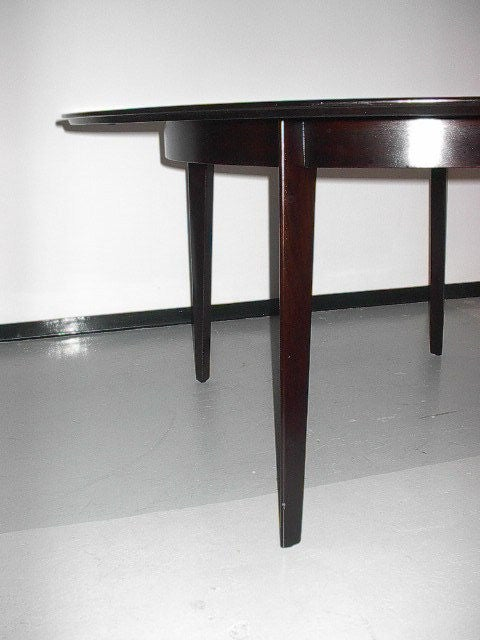 American Edward Wormley for Dunbar Oval Dining Table For Sale