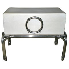 Luxury Chest on Silver Plated Legs