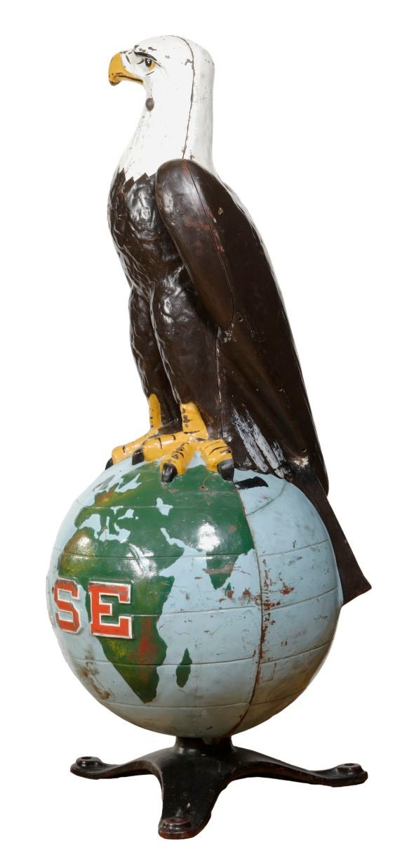 He Brought Back Case S Eagle On A Globe