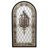 ART GLASS LEADED WINDOW