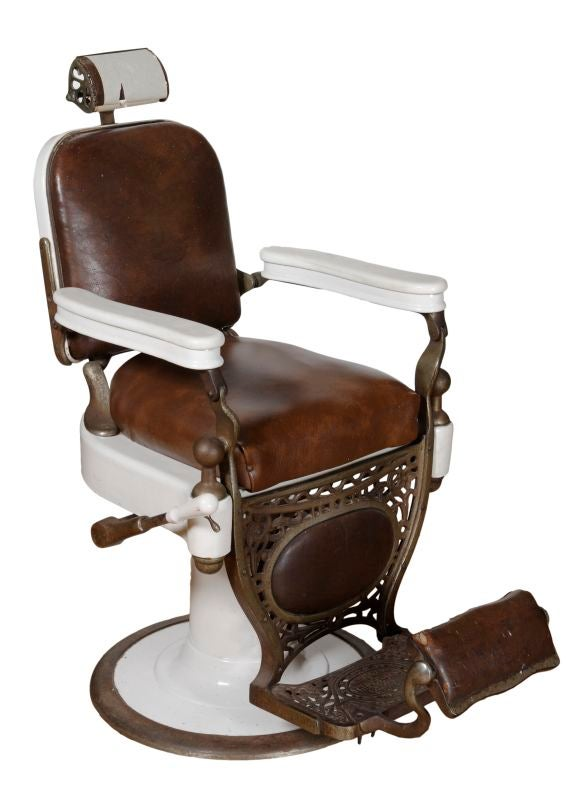 Theo Kochs Chicago Barber Chair At 1stdibs