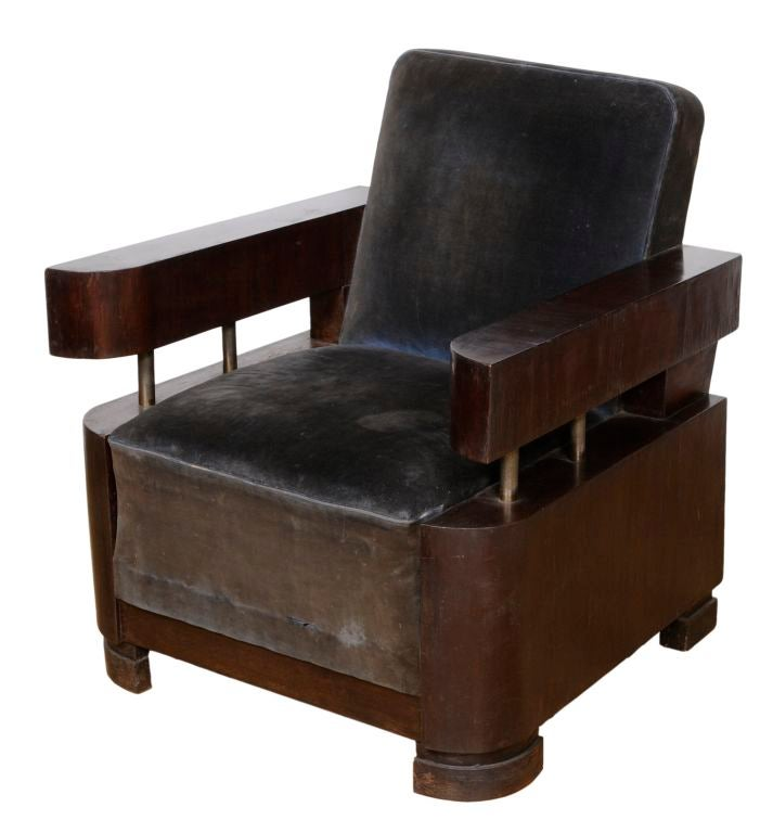 Three piece art deco suite at 1stdibs for Art deco furniture chicago