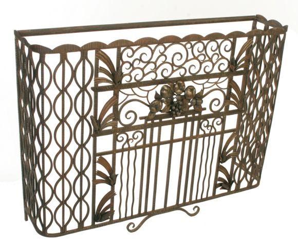 fer forge console at 1stdibs. Black Bedroom Furniture Sets. Home Design Ideas