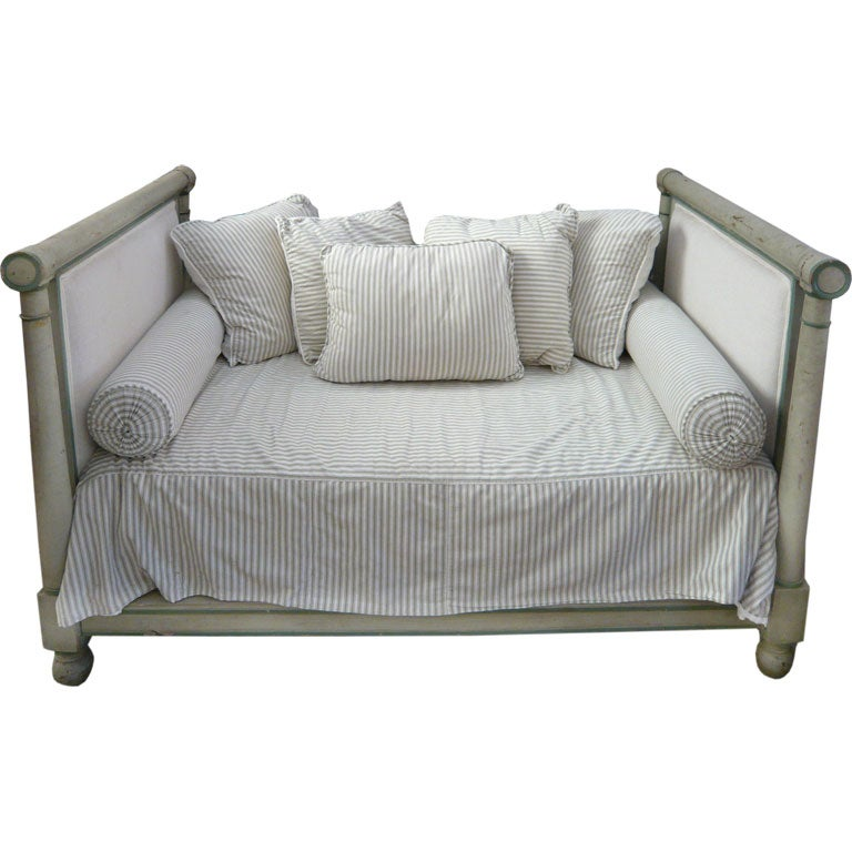 19th c. French Directoire Day Bed