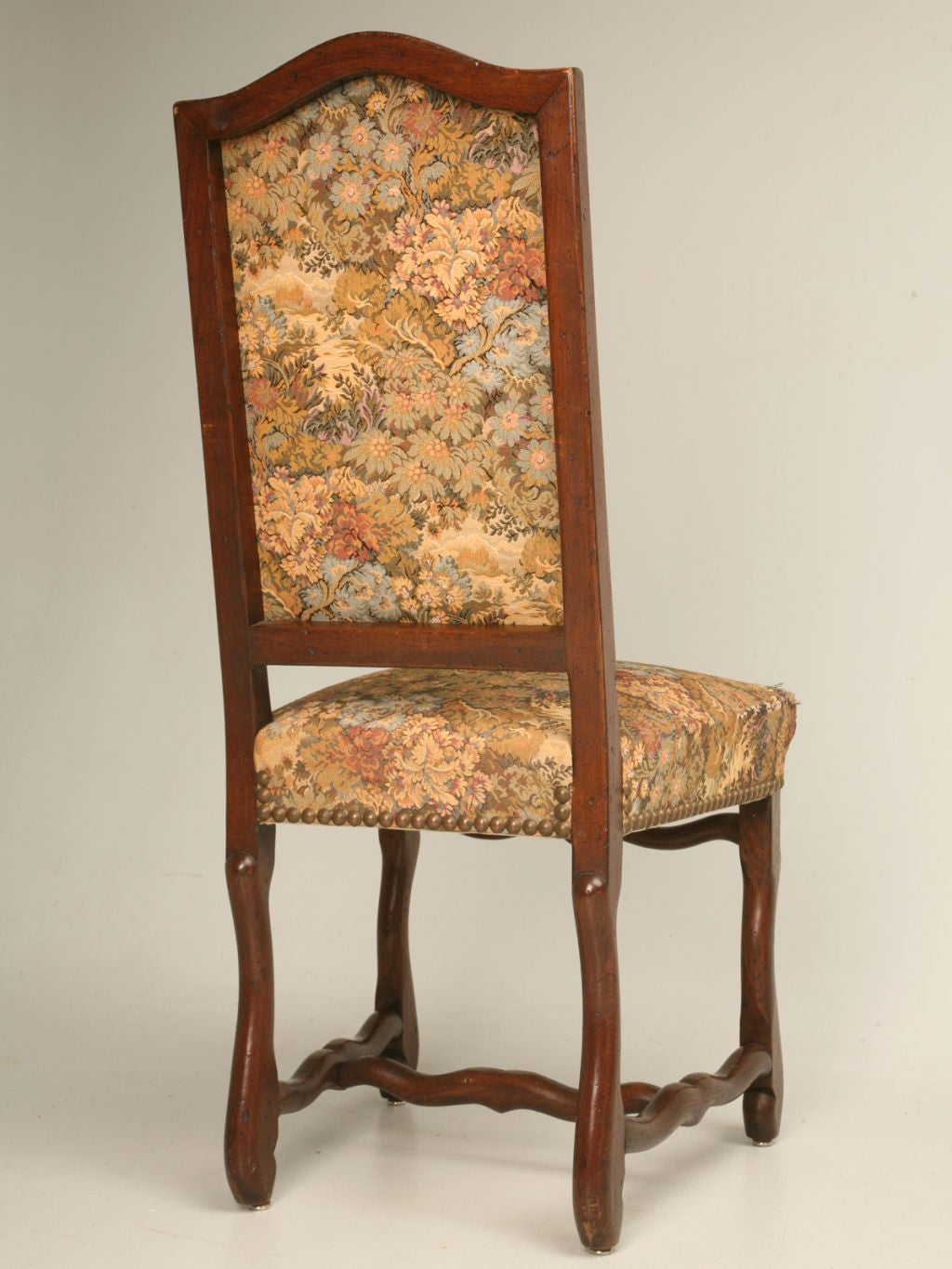 Set Of 8 French Louis XIII Style Oak Dining Chairs At 1stdibs