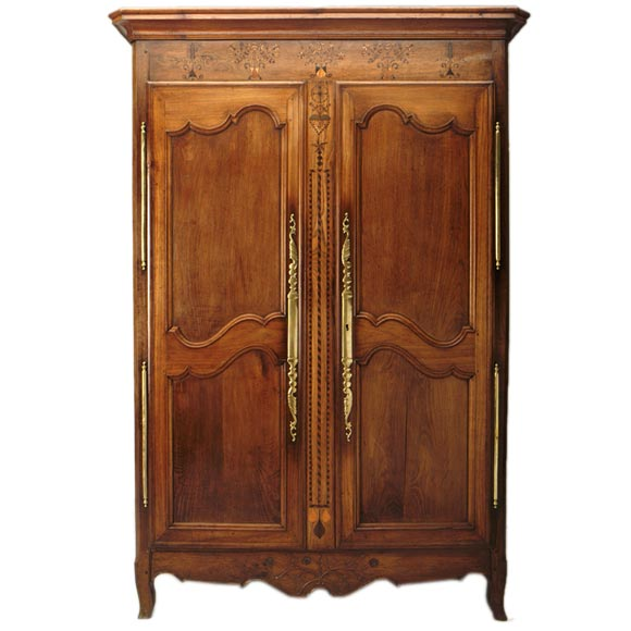 napoleon iii normandy armoire at 1stdibs. Black Bedroom Furniture Sets. Home Design Ideas