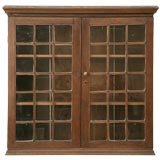 c.1850 English Oak Hanging Cabinet