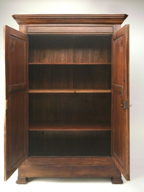 Louis Philippe Style Armoire At 1stdibs