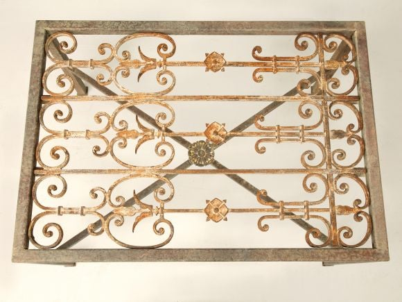 French Iron Gate Coffee Table 3
