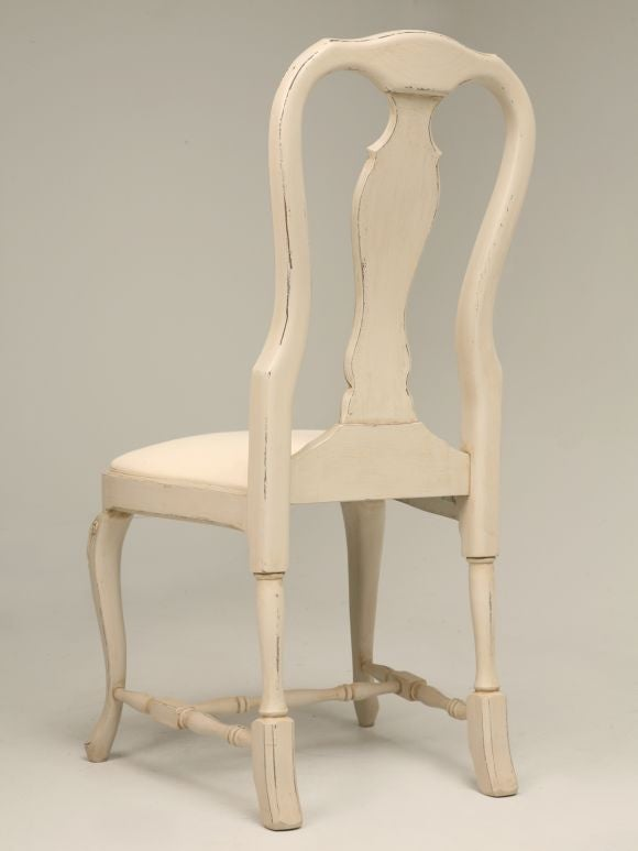 Set of 6 swedish style dining chairs at 1stdibs for Swedish style dining chairs