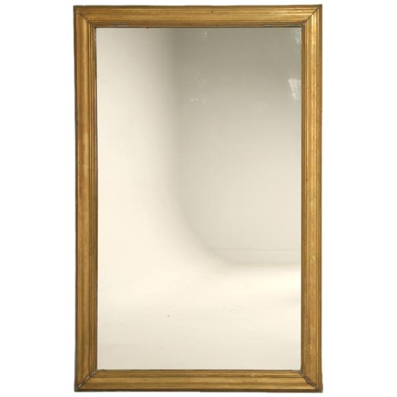 C 1880 1900 French Brass Bistro Mirror At 1stdibs