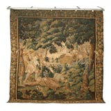 French Aubusson Tapestry, circa 1650s Documented from Aubusson