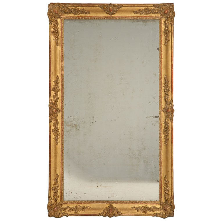 C 1790 1800 French Gilded Mirror At 1stdibs