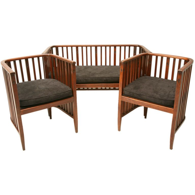 1920 french settee 2 matching cube chairs is no longer available
