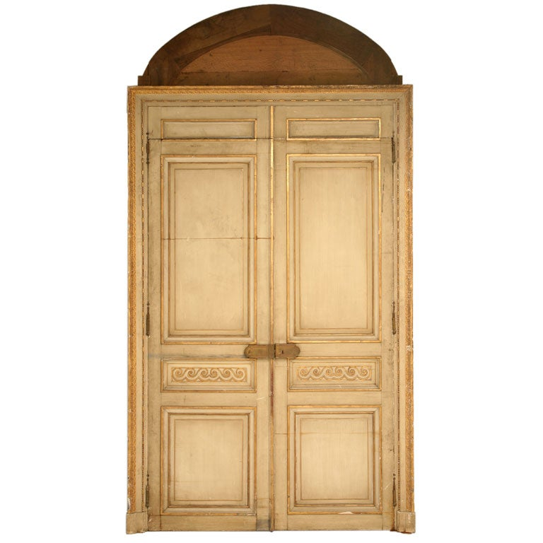 C 1800 French Ch 226 Teau Directoire Doors At 1stdibs