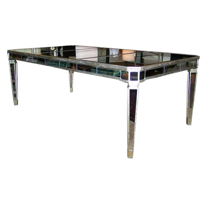 Borghese Mirror Images Mirrored Nightstand