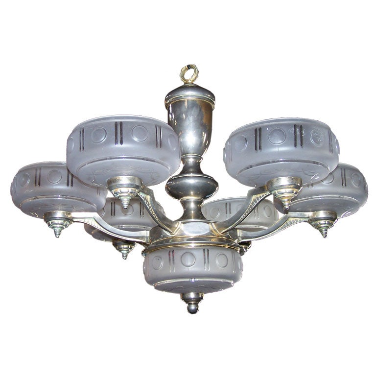 1930s French Chandelier
