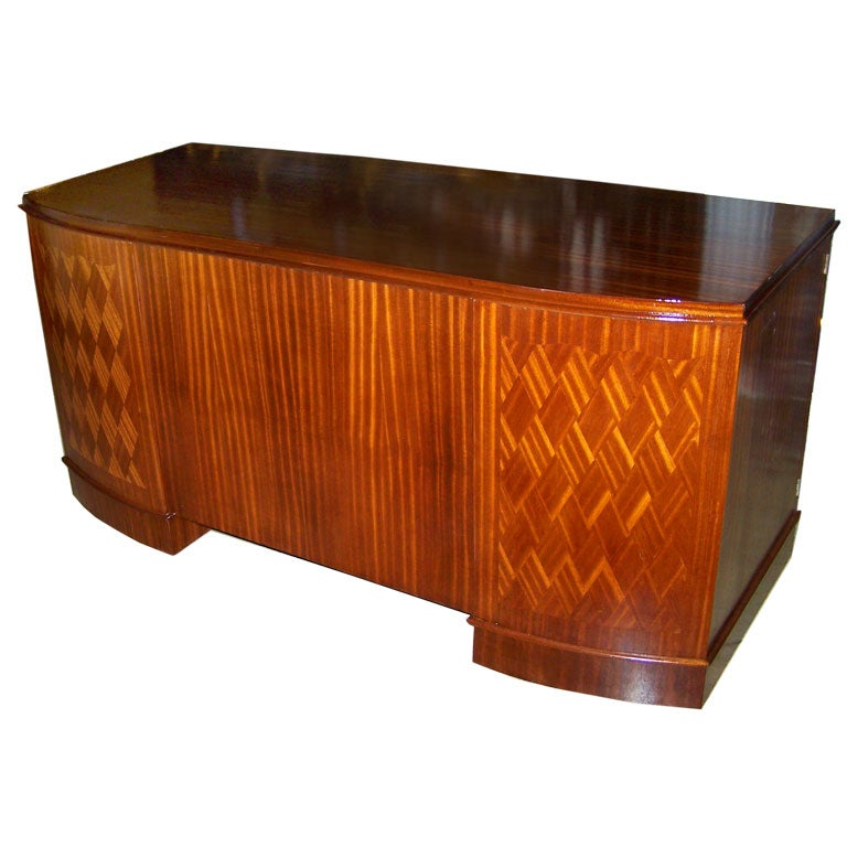 1940s French Art Deco Style Desk