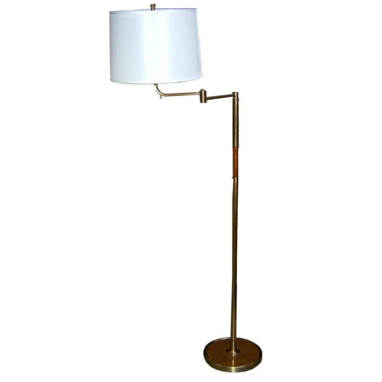 1940s German Floor Lamp For Sale at 1stdibs