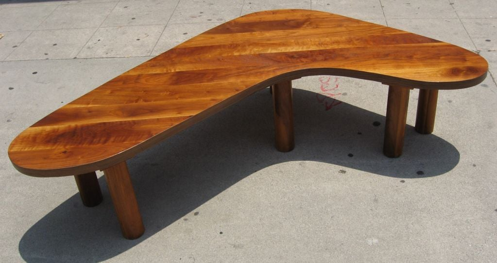 Boomerang Coffee Table In The Style Of Charlotte Perriand