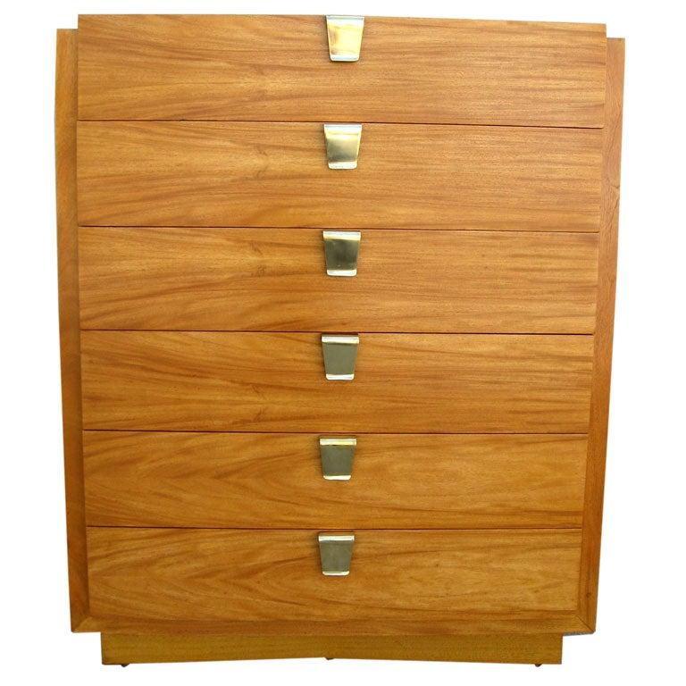 Lemon Wood Furniture ~ Lemon wood tall boy at stdibs
