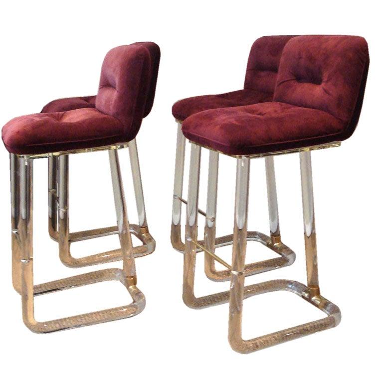 furniture seating stools very rare fantastic three robert mouseman thompson milking