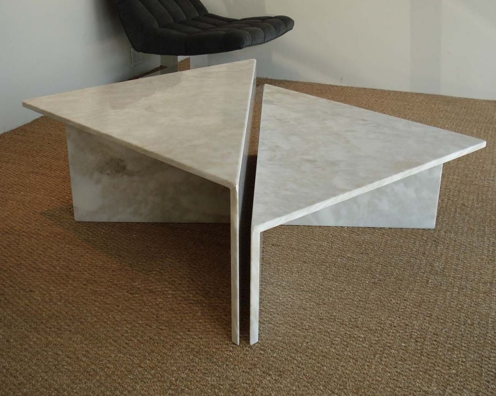Modular marble coffee table at 1stdibs for Modular coffee table