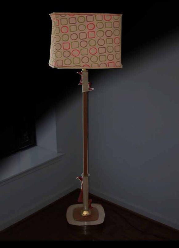"Mid Century ""Rembrandt"" Floor Lamp. image 2"
