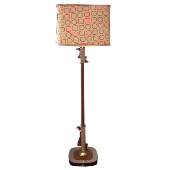 """Mid Century """"Rembrandt"""" Floor Lamp."""