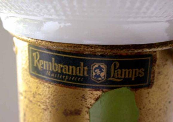 "Mid Century ""Rembrandt"" Floor Lamp. image 4"