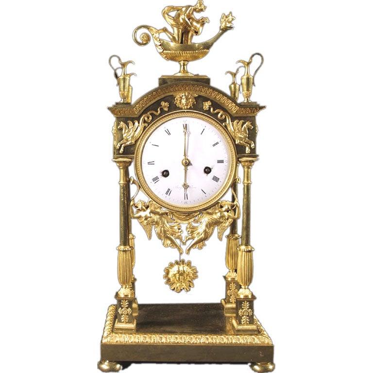 Louis XVI Ormolu Clock by Breguet. Circa 1780