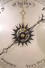 Fine Regency Mahogany Wheel Barometer, circa 1810 image 2