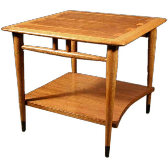 1950s Mid Century End Table By Lane Furniture: American Mid-Century Modern Table By Lane. Circa 1950 At