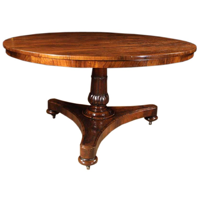 Late Regency Rosewood Center Dining Table C 1825 at 1stdibs : q193aa from www.1stdibs.com size 768 x 768 jpeg 40kB