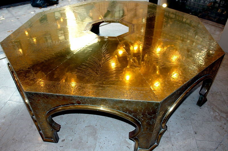 Large Middle Eastern Style Coffee Table At 1stdibs